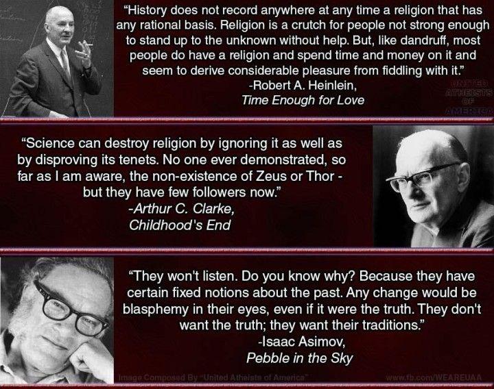 Top 10 Atheism Quotes - Common Sense Atheism