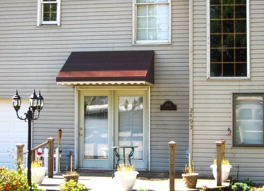 Residential Aluminum Awnings Aluminum Awnings Cinder Block House Residential Awnings