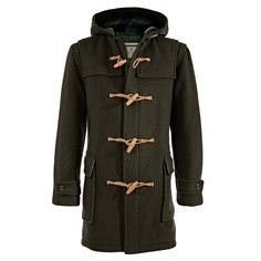 Cornwall Dufflecoat Olive, 379€, now featured on Fab.