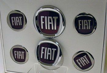 fiat badges logo kit fiat 500 accessories pinterest fiat. Black Bedroom Furniture Sets. Home Design Ideas
