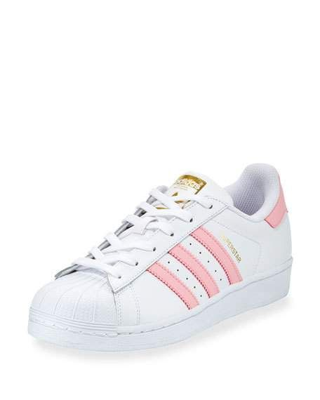 pretty nice e94d6 26f0f Superstar Original Fashion Sneaker, White Pink