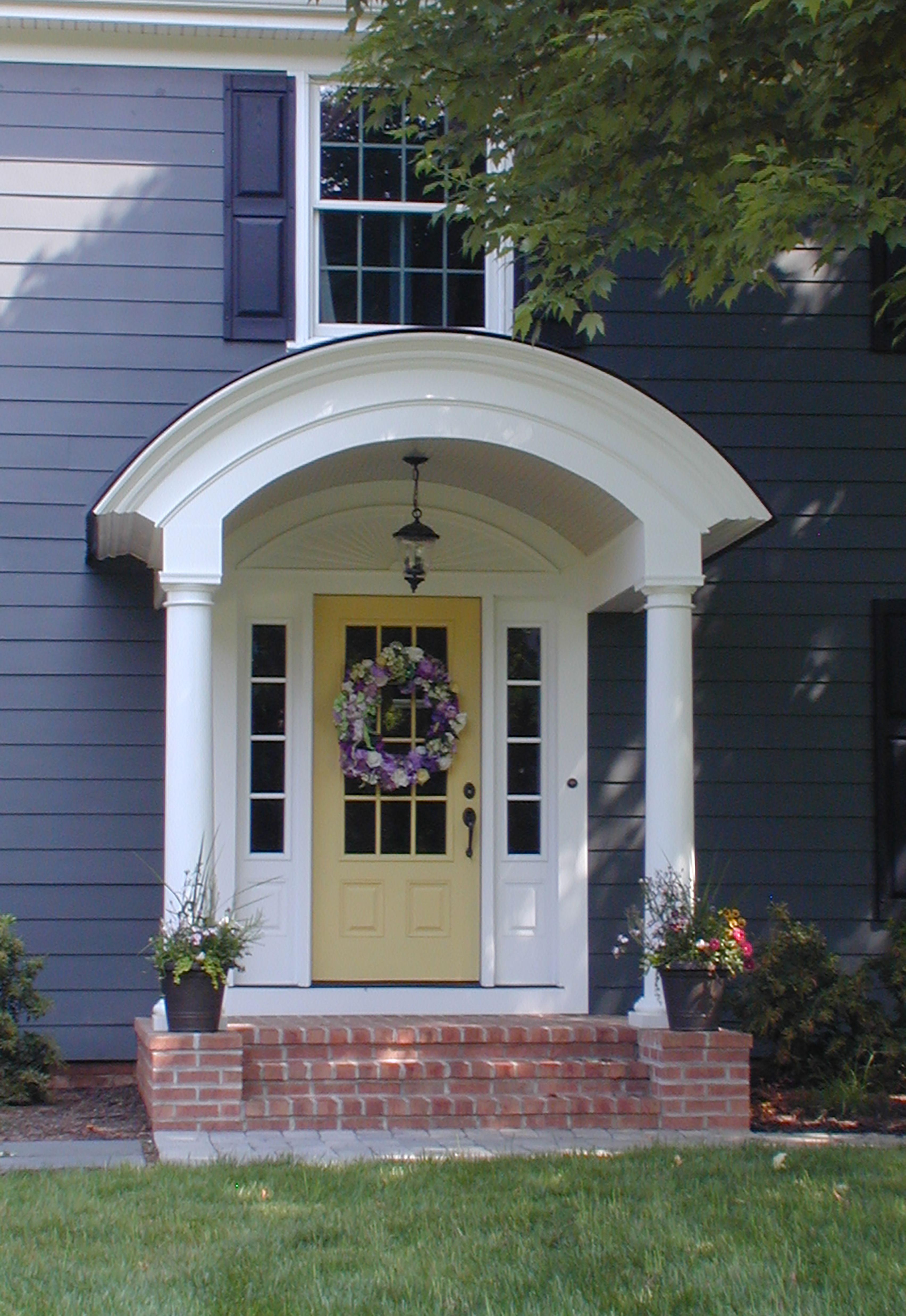 Front Entry Design Front Door Remodeling Owings Brothers Porch Design House Exterior Front Porch Design