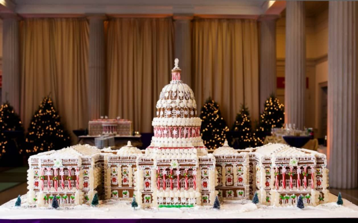 Check Out These Impressive Landmarks Built Out of Gingerbread