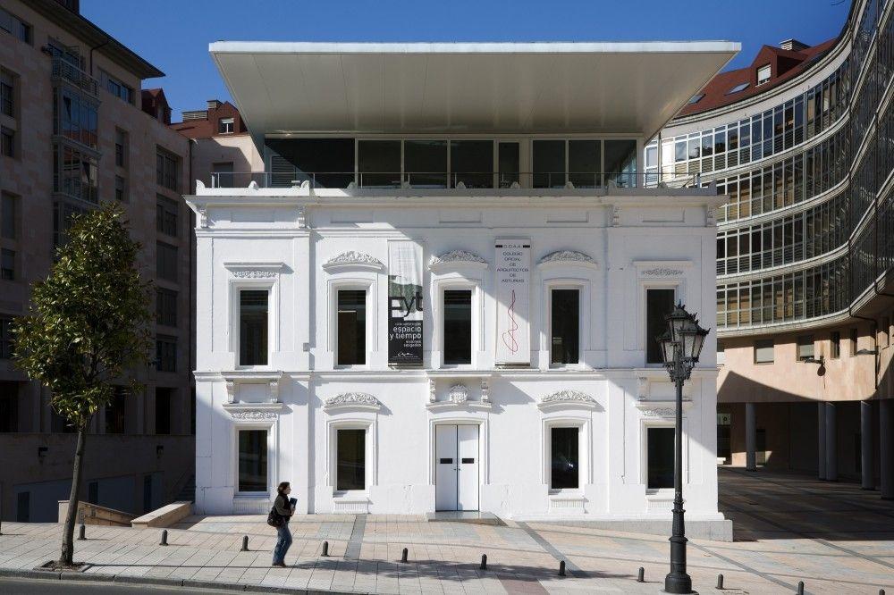 Galer a de sede del colego oficial de arquitectos de - Arquitectos oviedo ...