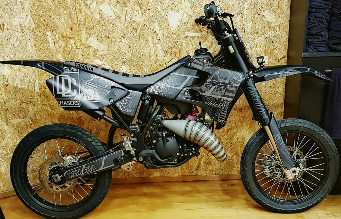 Yamaha Dt 125 Dirtbikes Motorcycle Bike
