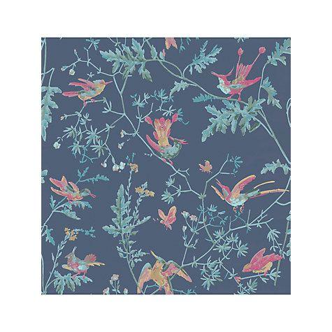 Cole & Son Hummingbirds Wallpaper, 100/14067 Hummingbird