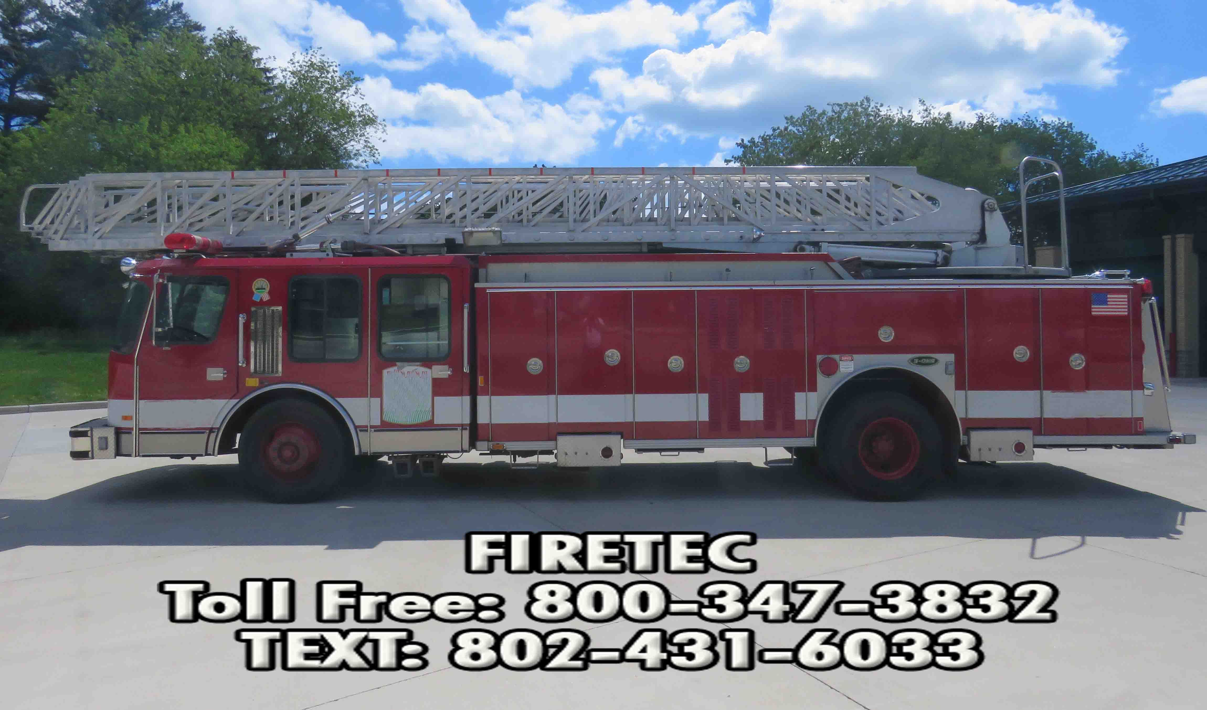 Used Fire Trucks For Sale >> E One Aerial Truck For Sale See This Truck And More Used Fire