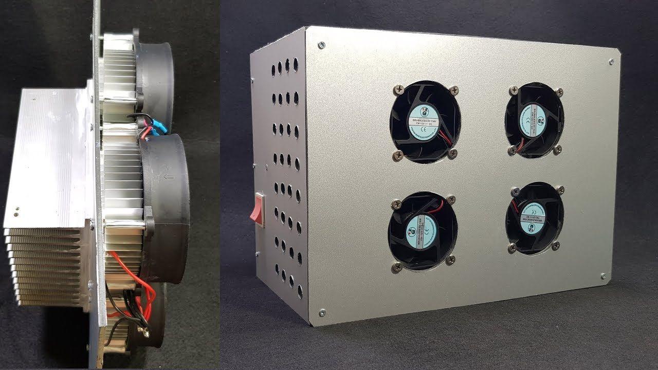 Build A Air Conditioner Using Peltier Com Imagens Ar