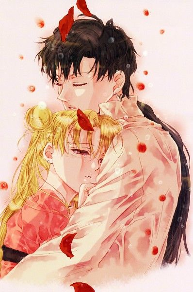 Photo of SAILOR MOON WITH CHERRY BLOSSOMS   Tags: Anime, Cherry Blossom, Bishoujo Senshi …
