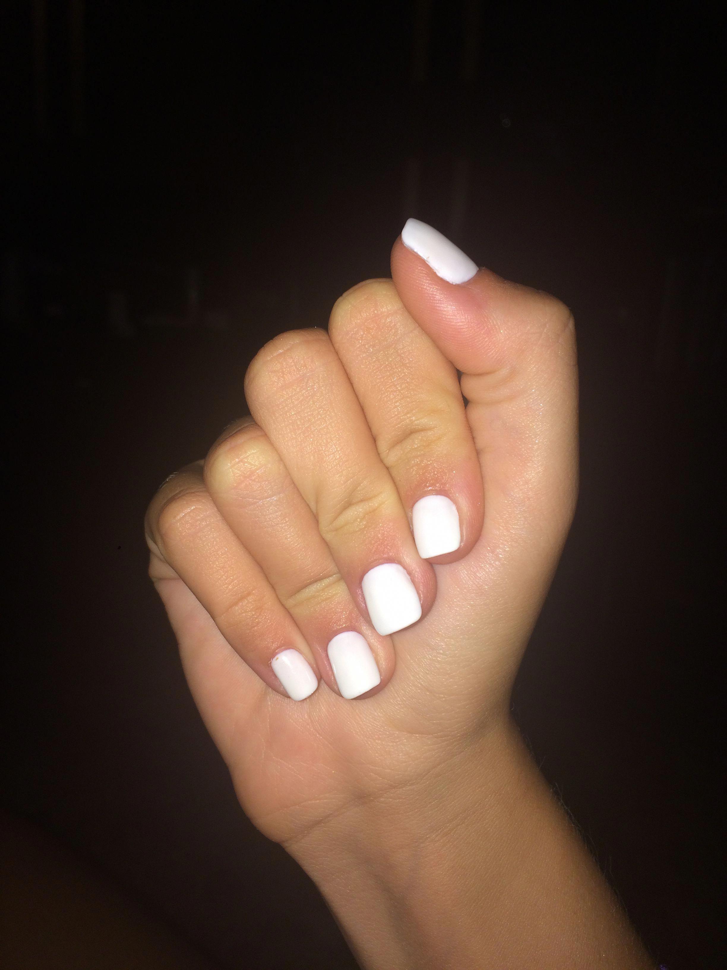 How To Do My Makeup Really Good White Acrylic Nails Nexgen Nails White Nails
