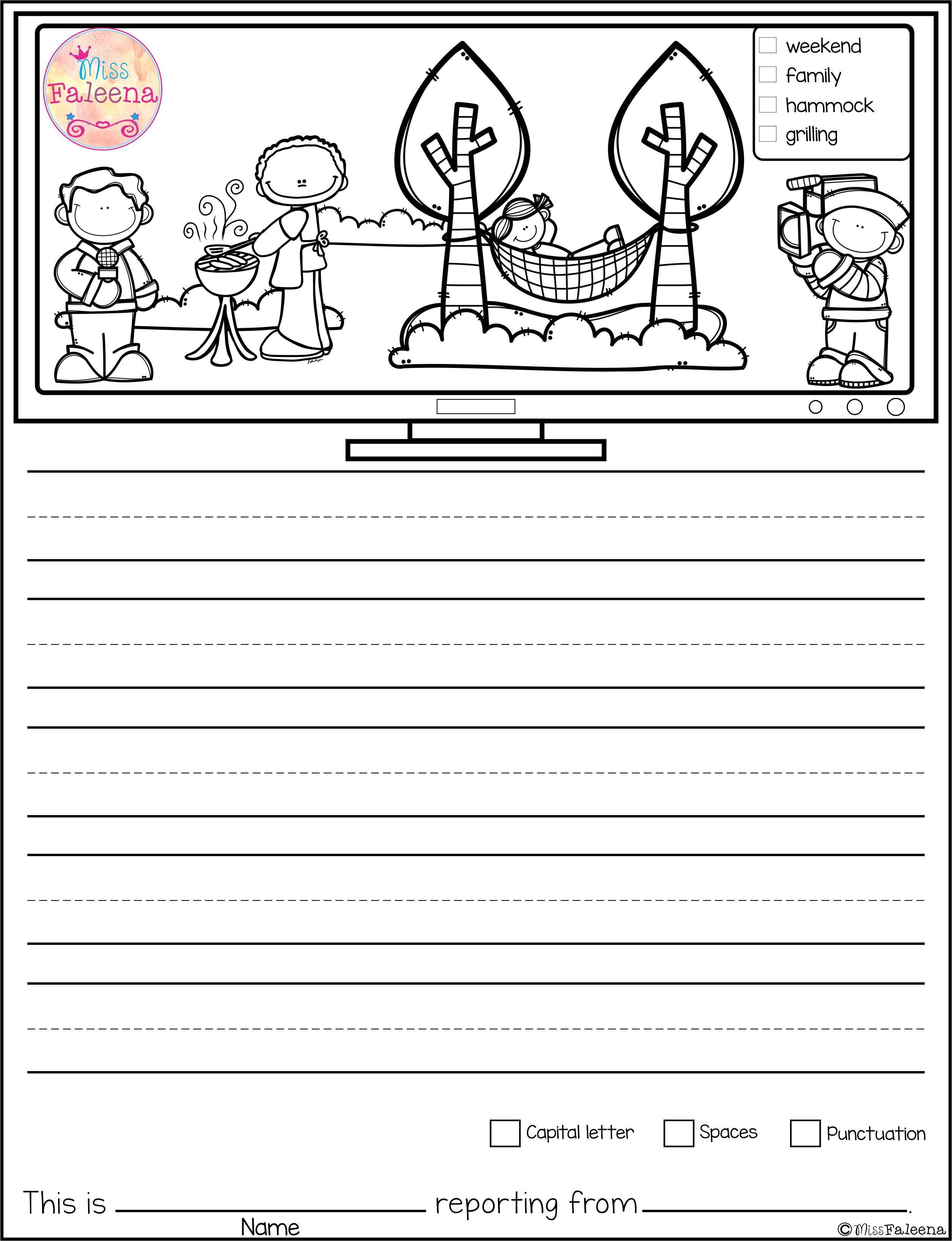 This Product Contains 30 Pages Of Picture Prompts Worksheets This Product Is Suitable For Kindergarte Picture Prompts Writing Pictures Picture Writing Prompts [ 3272 x 2510 Pixel ]