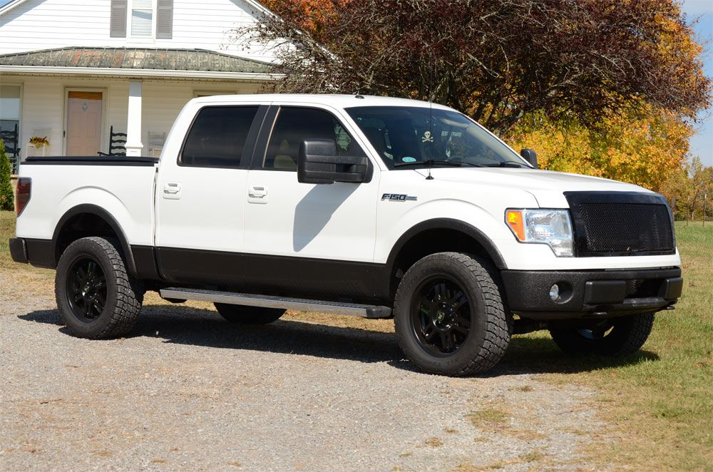 plasti dip white ford f150 on my to do list - White 2005 Ford F150 Lifted