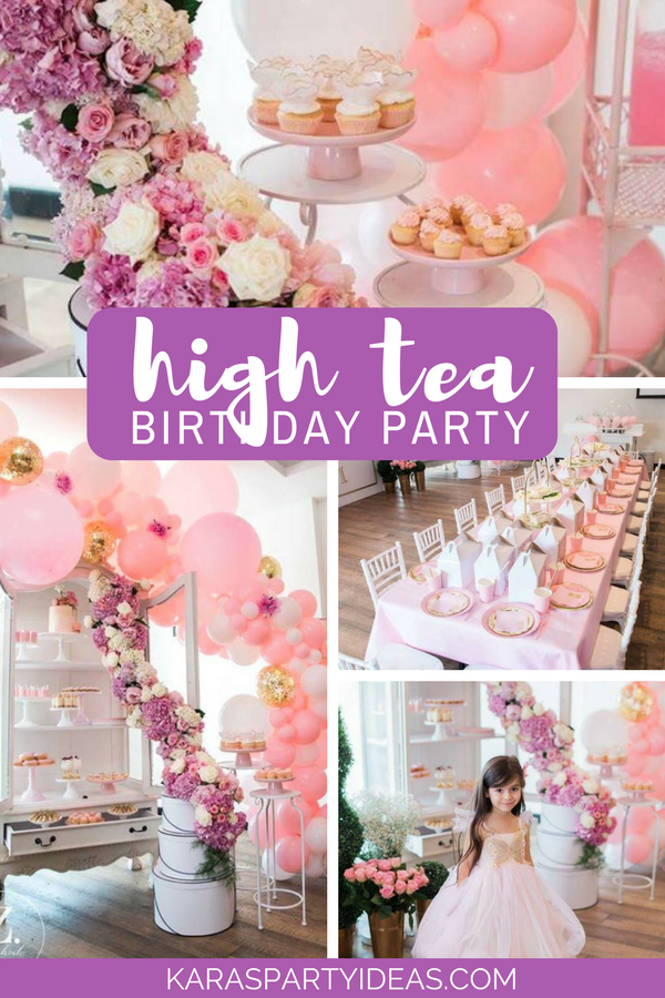 High Tea Birthday Party Awesome Party Ideas Pinterest Tea
