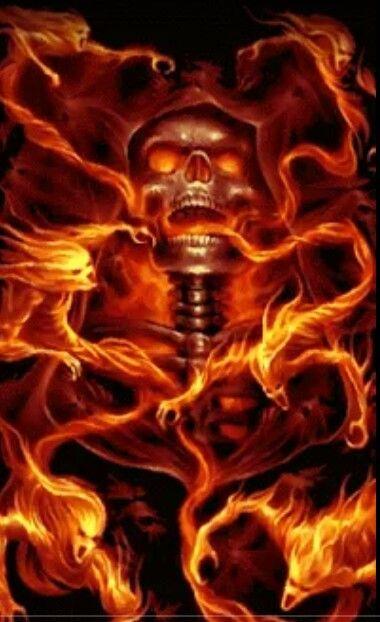skulls on fire skulls skulls badass skulls in 2018 pinterest