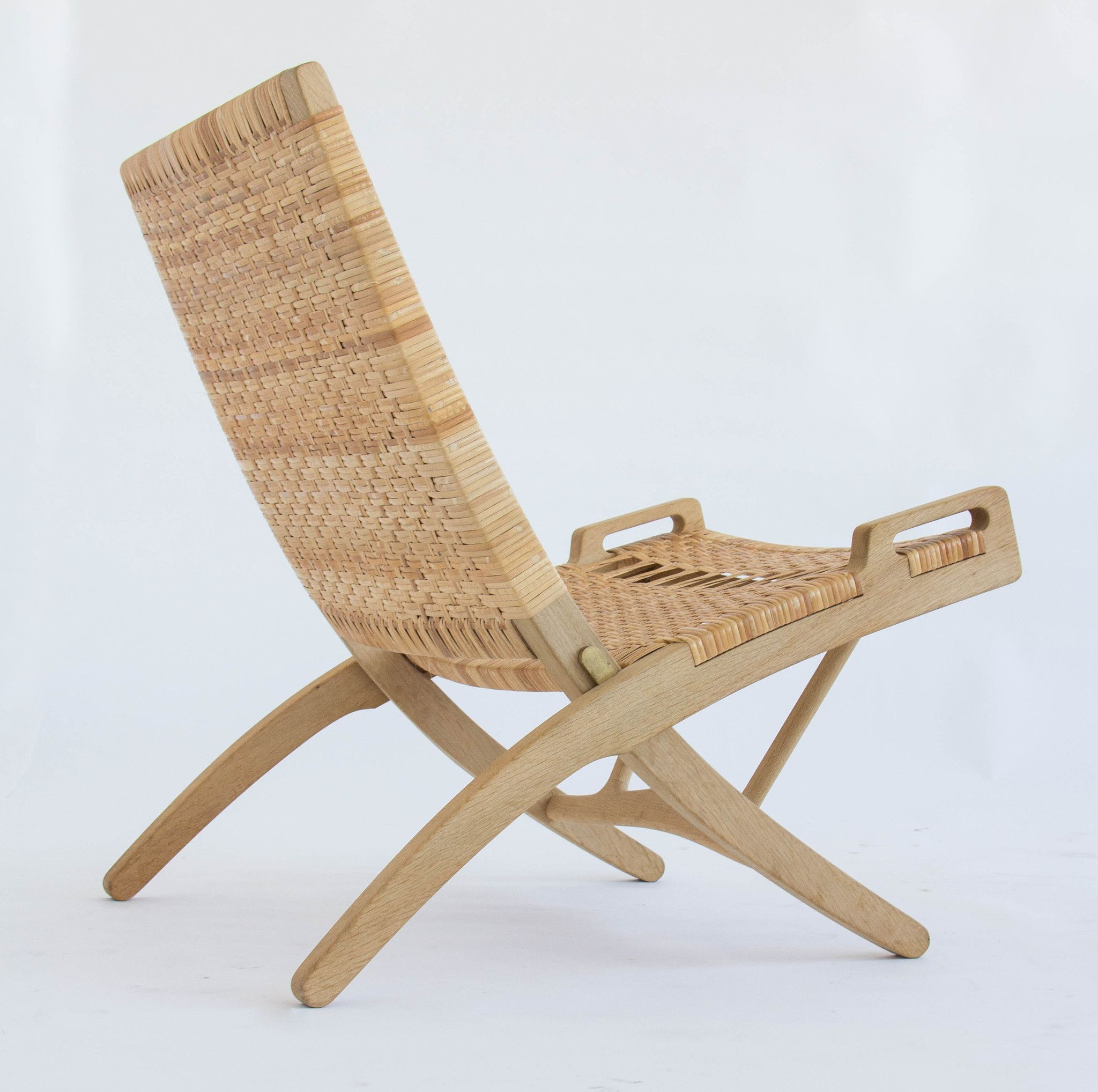 Pair Of Folding Rocking Chair Portraits