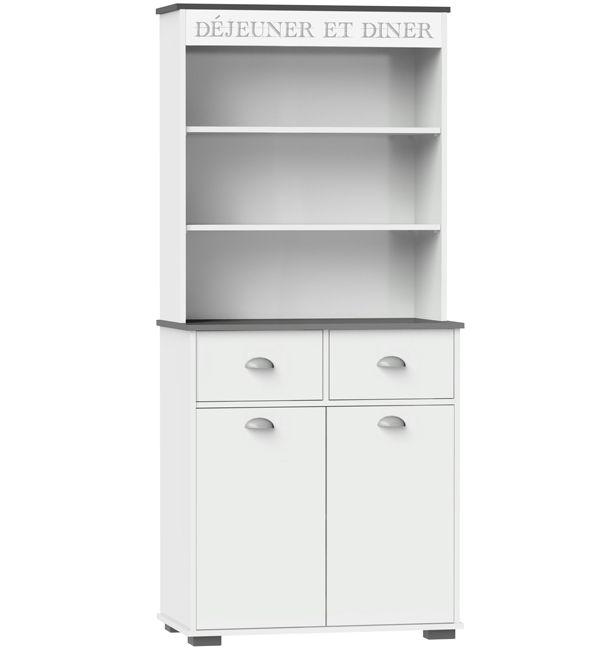 Bufé Blanco 2 Cajones Ref.K107-BT | Furniture en 2019 | Armarios ...
