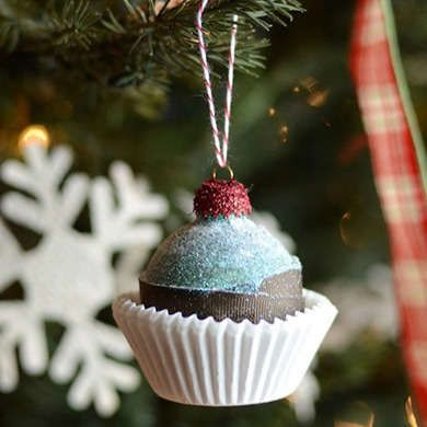 25 Insanely Easy-to-Make Holiday Ornaments Holiday ornaments
