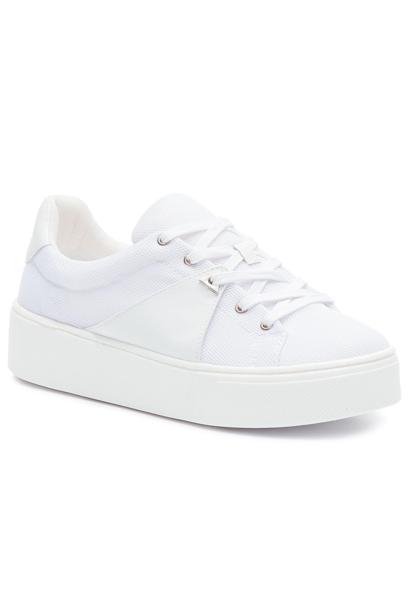 02ff6a9c1 SCHUTZTÊNIS FLATFORM SNEAKER LOW SCHUTZ - BRANCO | Shoes em 2019 ...