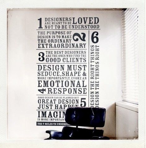 Designers are...