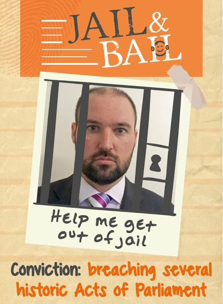 Mugshots of the prisoners from Jail and Bail 2016 at Exeter Castle