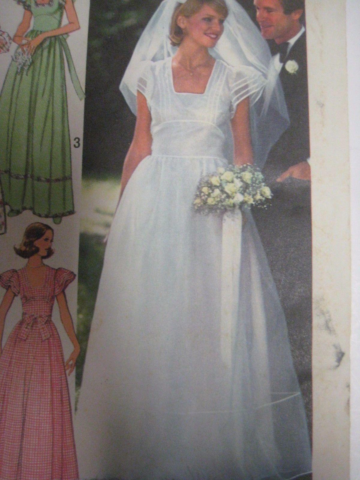 Details about vintage simplicity 7886 square neckline