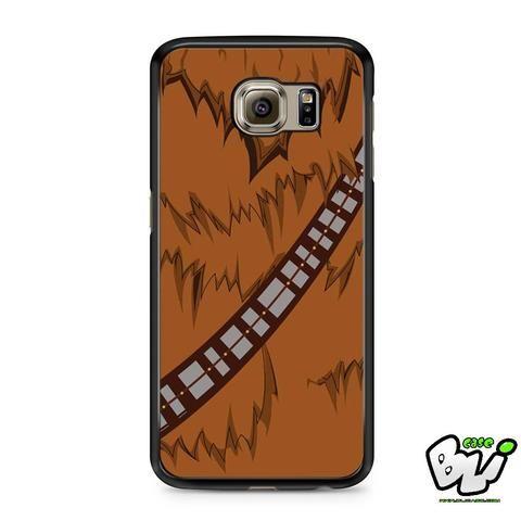 Brown Body Chewbacca Star Wars Samsung Galaxy S7 Edge Case