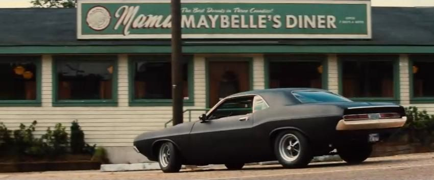 Dodge Challenger 1970 Matte Black Used In The Movie 2 Guns