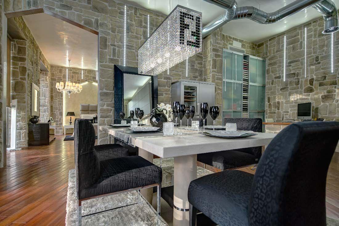 Design case interni for Arredamento hotel lusso
