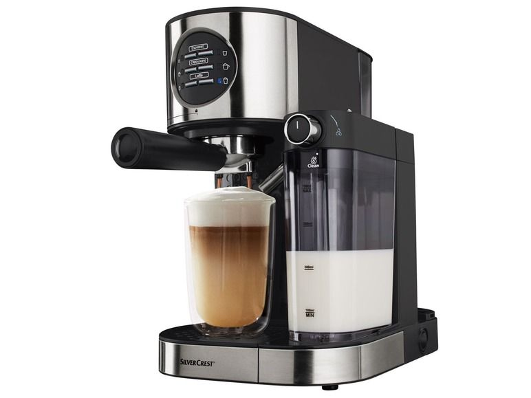 Espresso Kávovar Semm 1470 A1 Espressomachine Lidl En Keuken