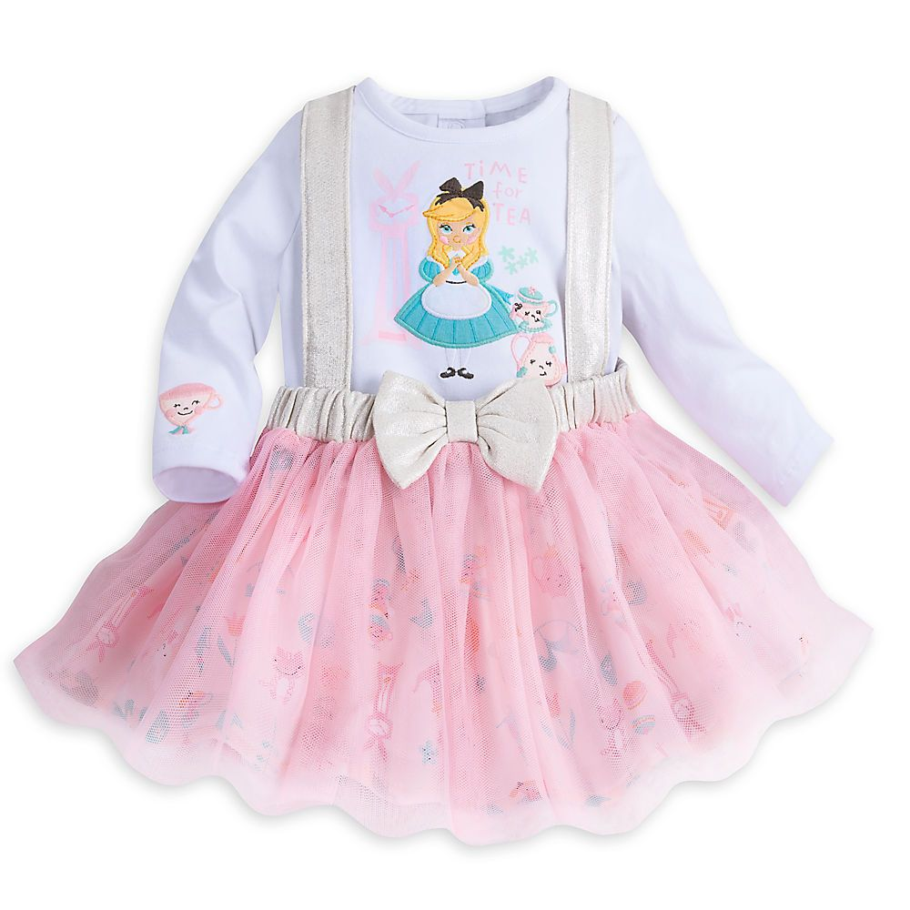 Alice In Wonderland Bodysuit And Tutu Set Disney Baby Vivien