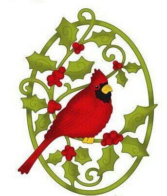 Christmas Cardinals Clipart.Christmas Cardinal Clip Art Christmas 2 Clipart