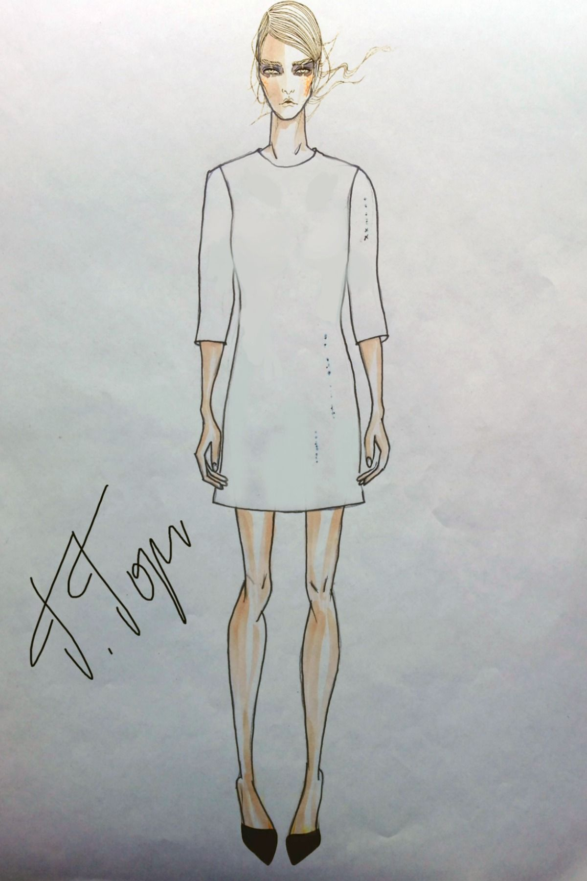 Fashion Forecast  Fashion forecasting, Male sketch, Women
