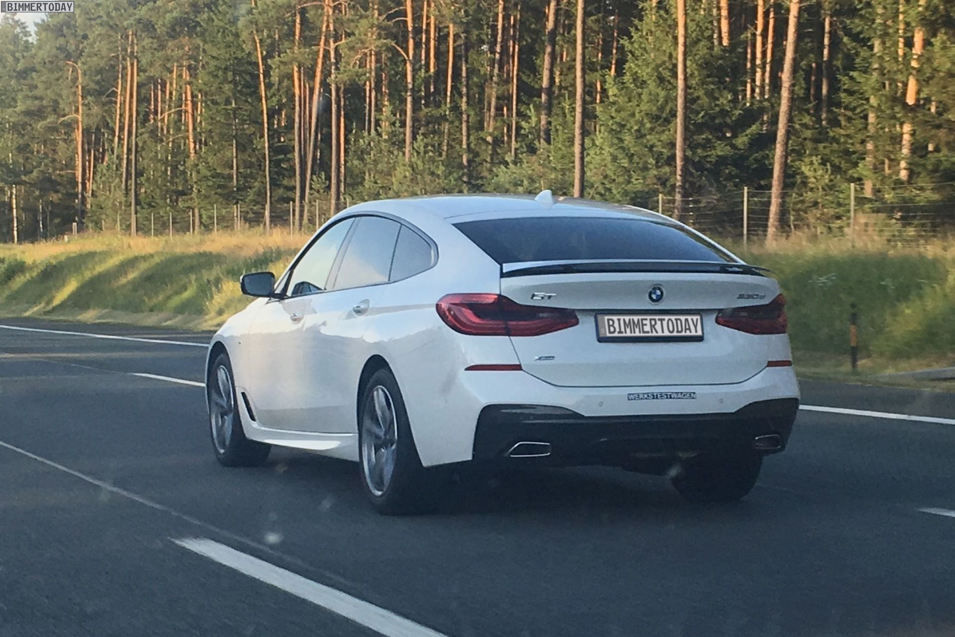 First live photos of the bmw 6 series gran turismo http www