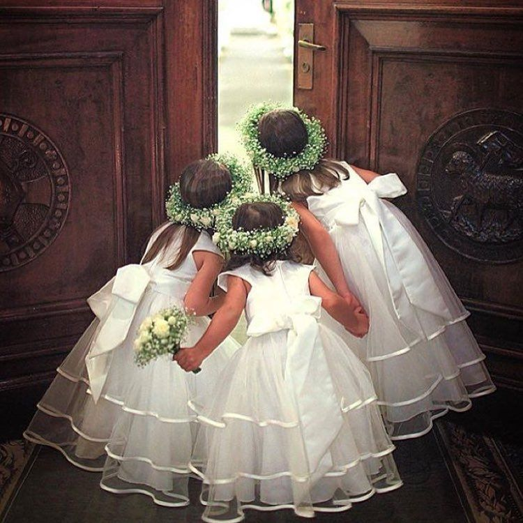 Flower Girl Page Boy Page Boy Outfits Ring Child Wedding