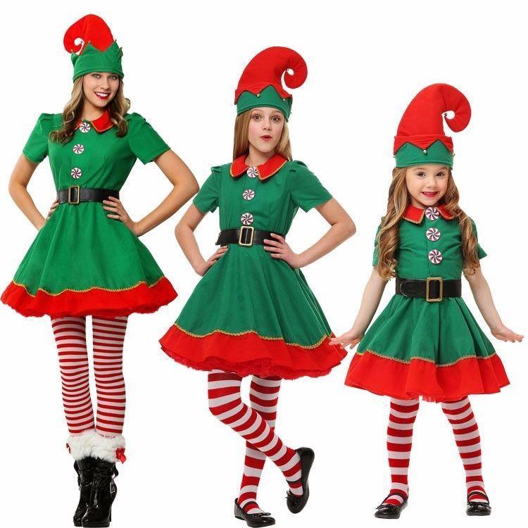 Elf Adult Long Costume Santas Helper Christmas Accessory Hat
