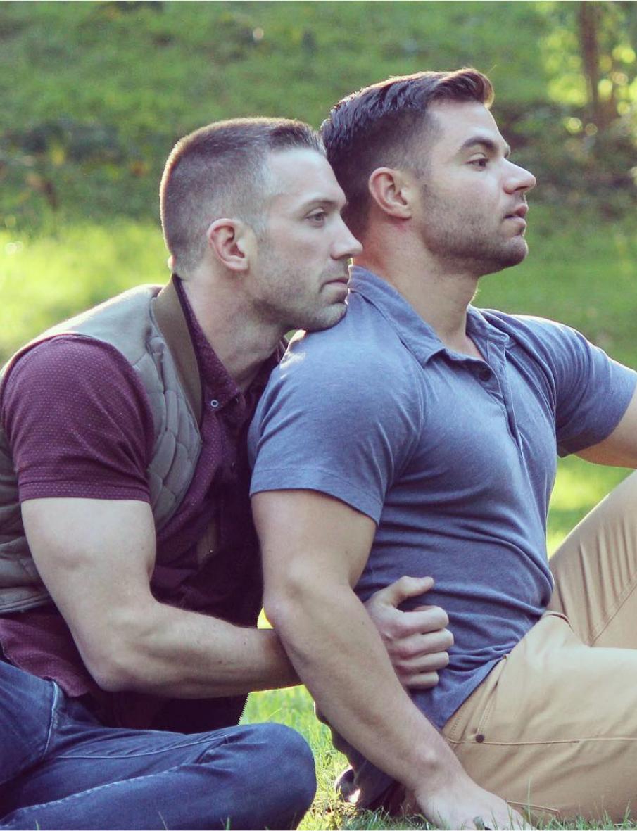 gay man to man love