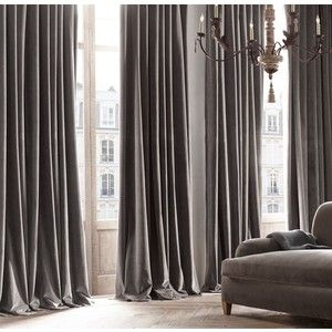 Velvet Curtains Luxury Curtains Vintage Curtains French