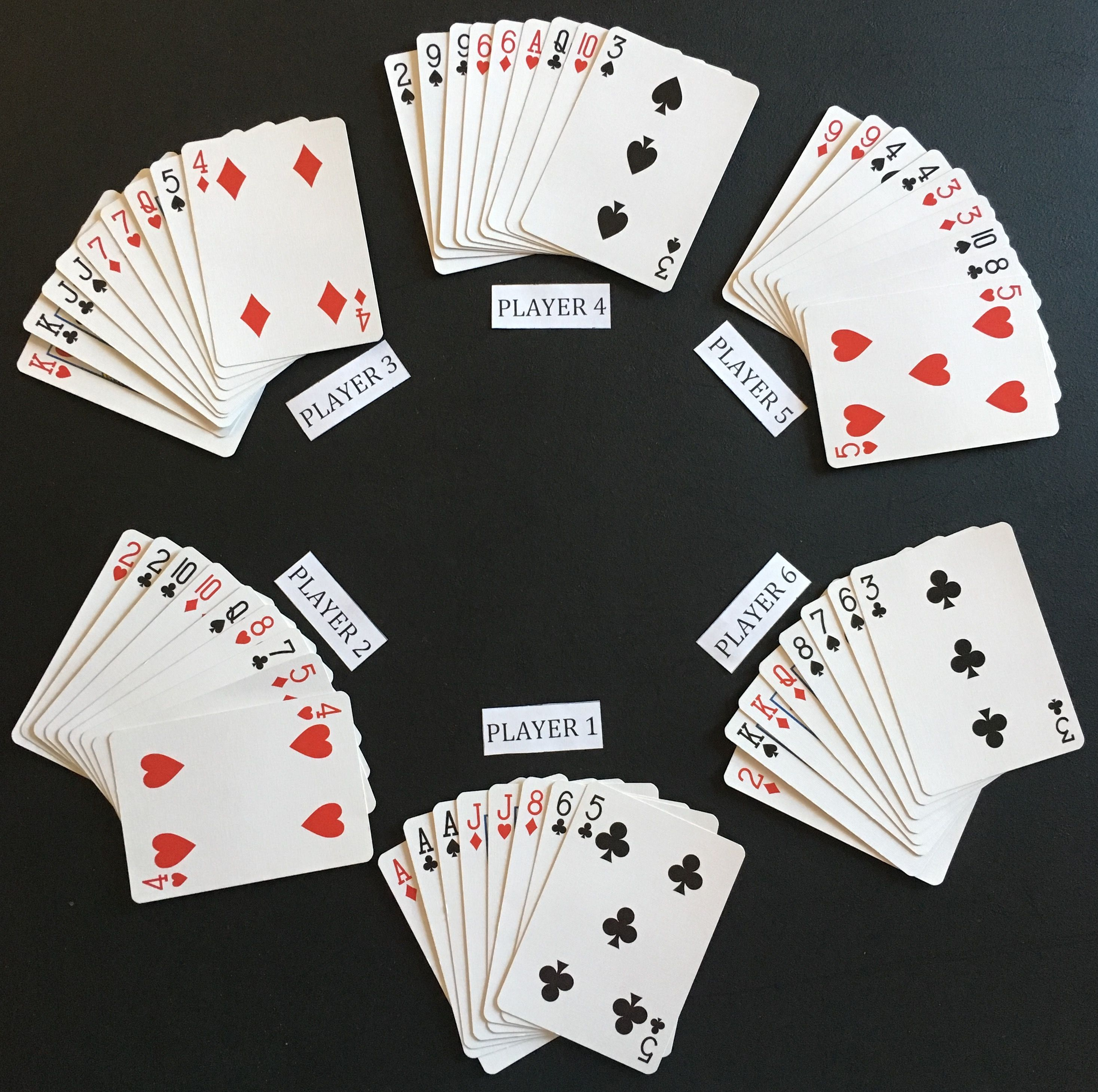 How to Play President #president #cardgames #playingcards #cards ...