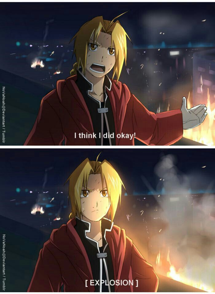 Edward Elric, funny, quote, comic, text; Fullmetal ...
