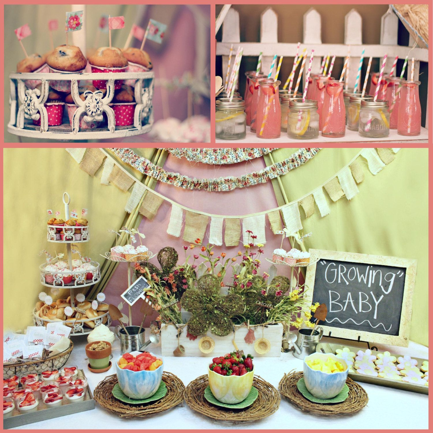 17 Best 1000 images about Michies baby shower on Pinterest Gardens