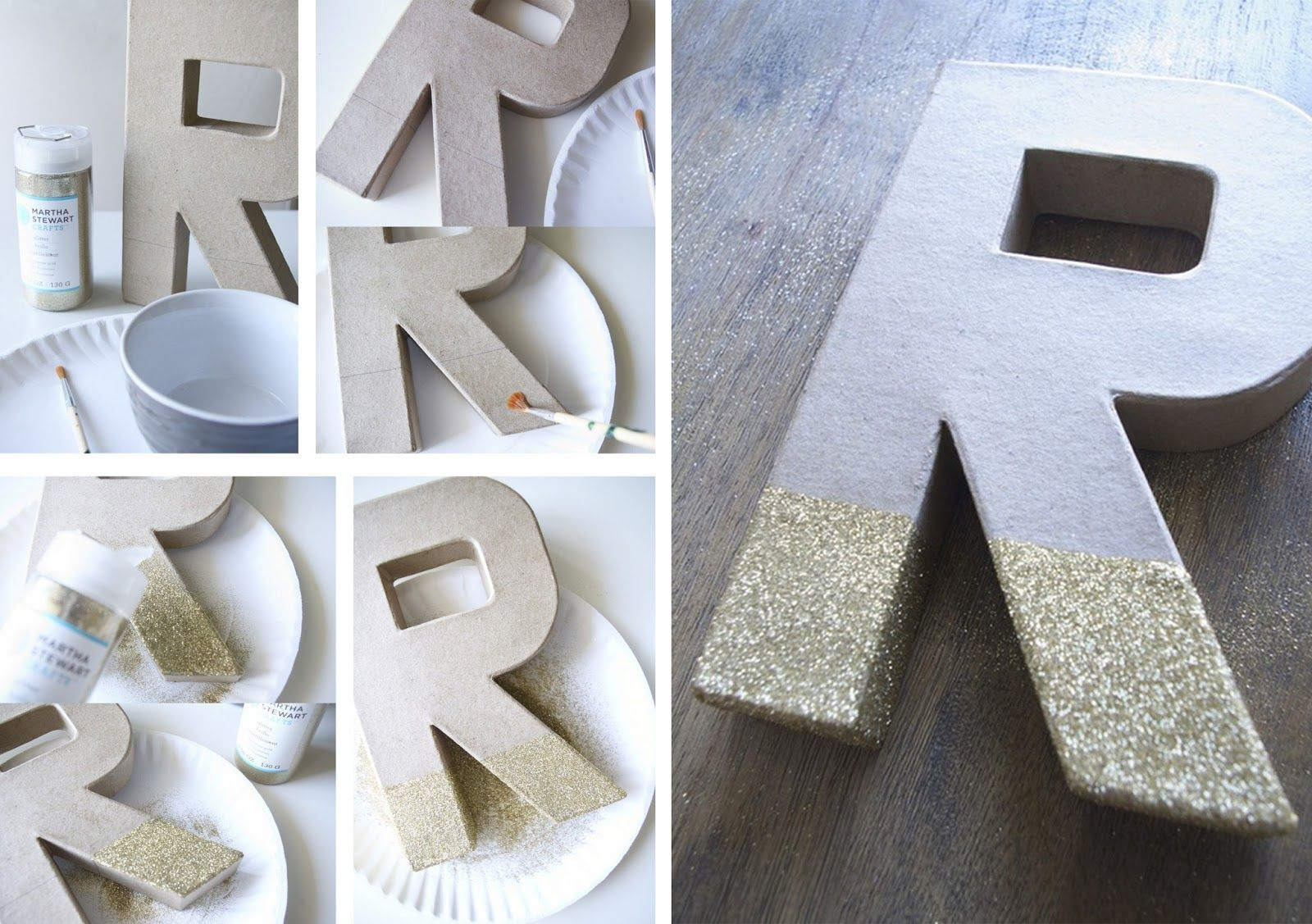 Diy Letras Decorativas Letras Diy Manualidades Decorar Personalizar