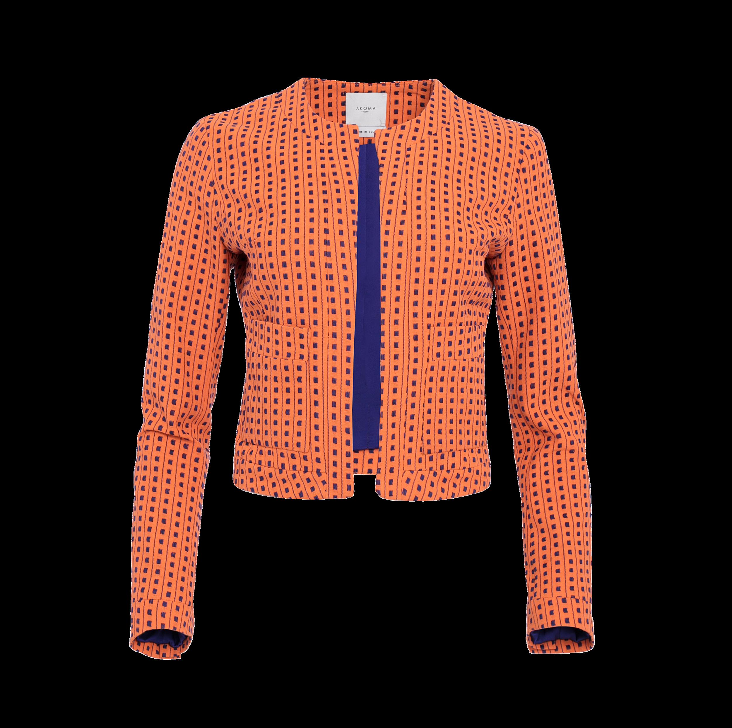 Maïmouna Jacket — Akoma 1260 Jackets, Red leather jacket