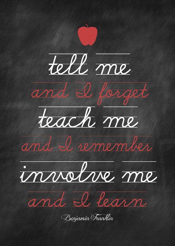 Instant Download Teach Me Quote Printable Teacher Quotes