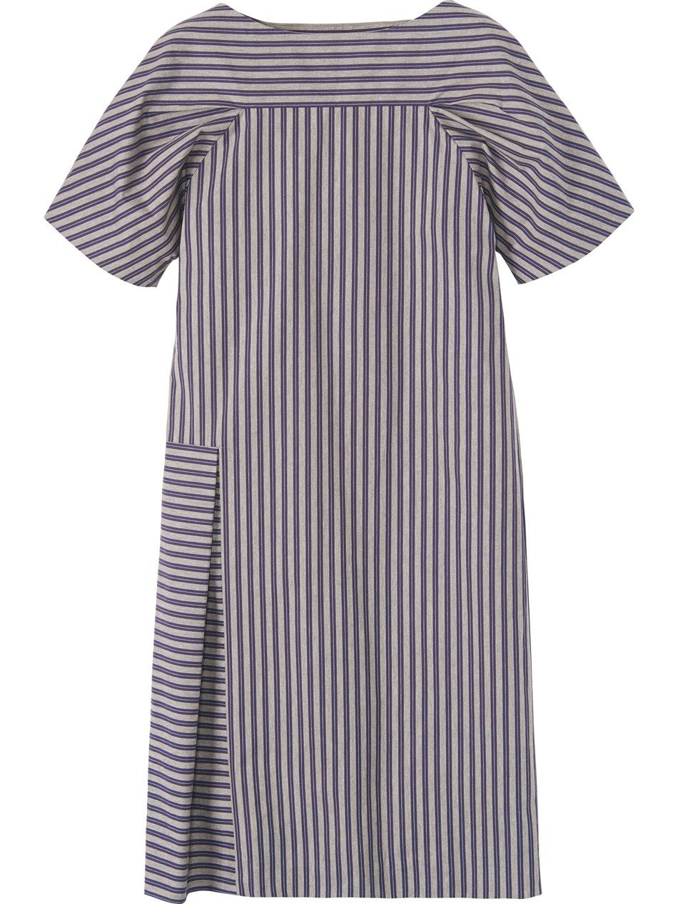 TOAST IZUMI STRIPE DRESS - love the cross striping