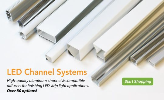 Led channel systems will give your led light installations the environmentallights offers complete led channel systems for led strip light mozeypictures Image collections