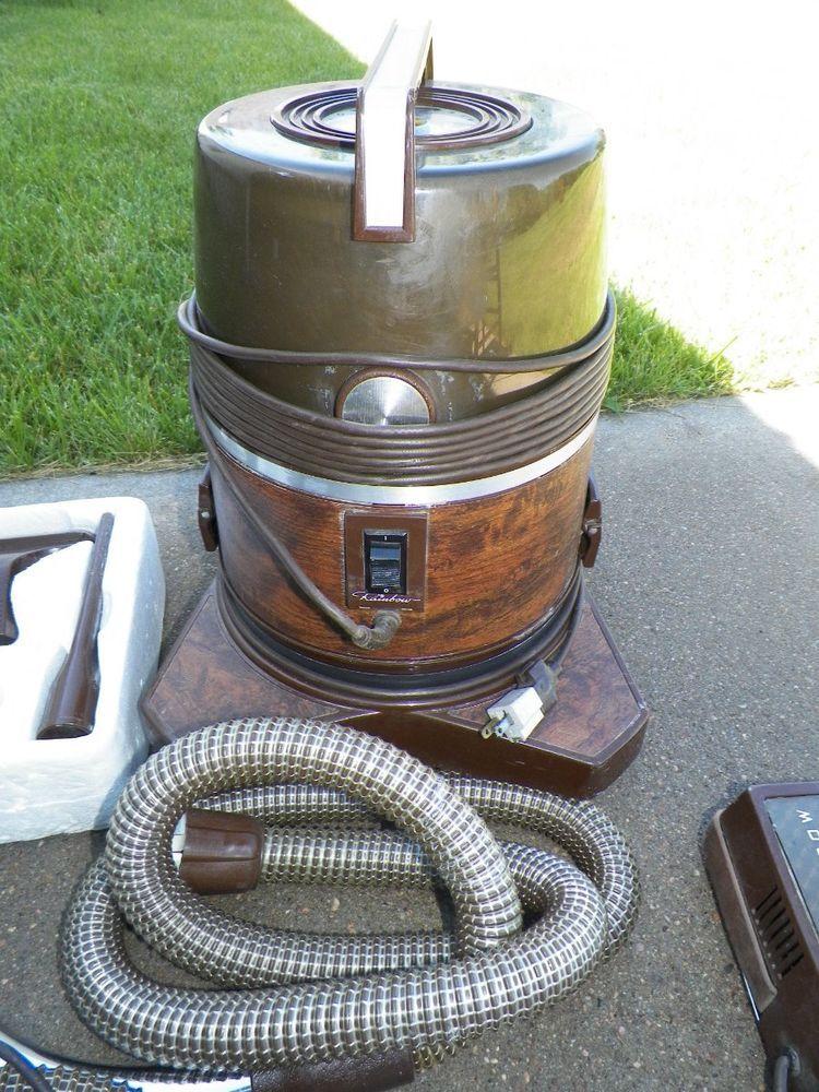 Vintage Rainbow Vacuum Cleaner Dc3 With Power Nozzle