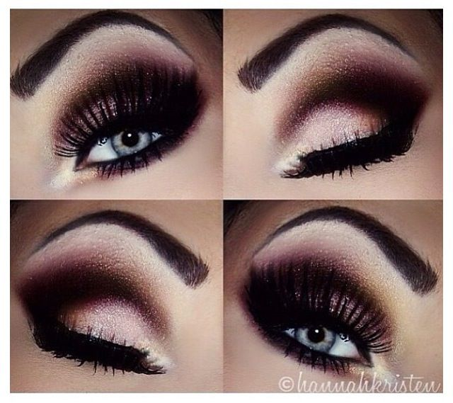 Make up. Eyes eye shadow