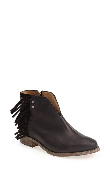 cbbfef75654 Koolaburra 'Dallas' Fringed Leather Bootie (Women) available at ...