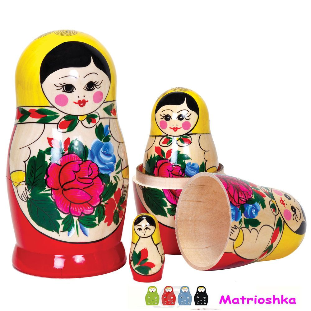 If you want to see the great perfection in artistry, buy Matrioshka Dolls