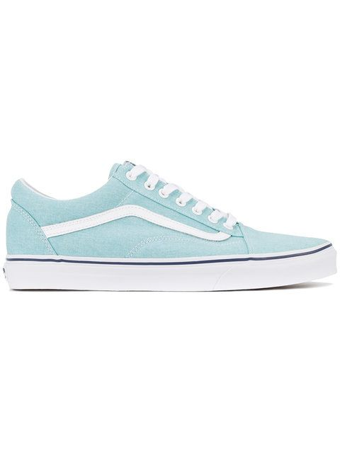 VANS . #vans #shoes #sneakers | Vans old skool, All blue